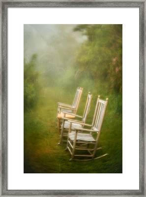 Sit A Spell Framed Print
