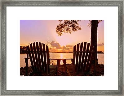 Sit Down And Relax Framed Print