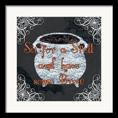 Witches Brew Framed Prints