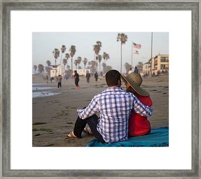 Framed Print featuring the photograph Sit With Me Forever by Nathan Rupert