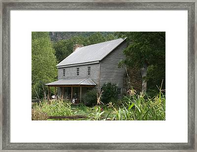 Sites Homestead Framed Print by Carolyn Postelwait