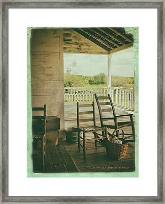 Sittin Place Framed Print