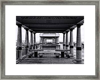 Sittin' Space Framed Print