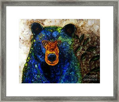 Sitting And Waiting Framed Print