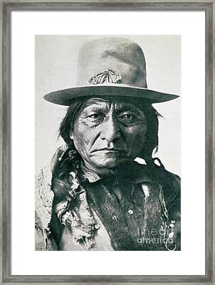 Sitting Bull Framed Print