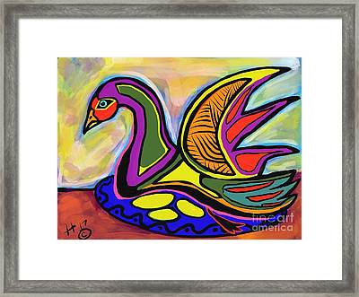 Sitting Framed Print