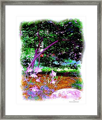 Framed Print featuring the painting Sitting In The Shade by Patricia Griffin Brett