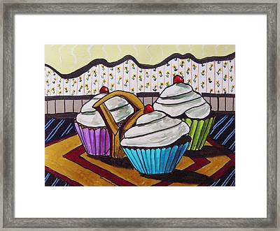 Sitting On A Fancy Plate Framed Print by John Williams