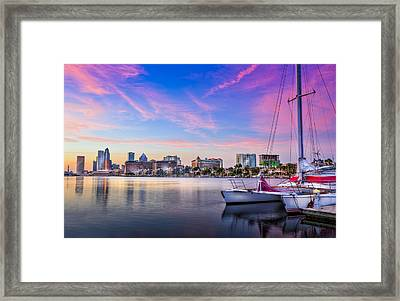 Sitting On The Dock Of The Bay Framed Print by Marvin Spates