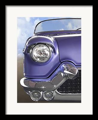 Purple Car Framed Prints