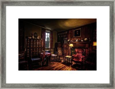 Sitting Room Framed Print by Ryan Wyckoff