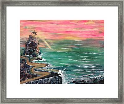 Siwash Rock Framed Print