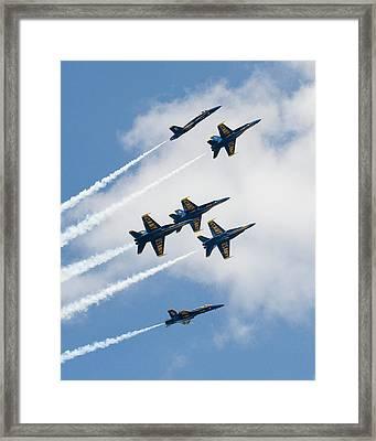 Six Angels Framed Print