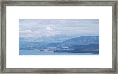 Six Islands  Framed Print by George Katechis