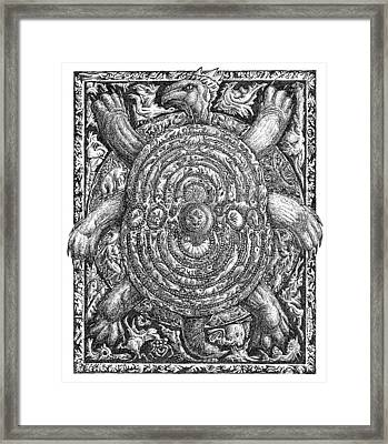 Six Legged Turtle Framed Print by Joe MacGown