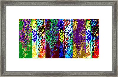 Six Seans Framed Print by Randall Weidner