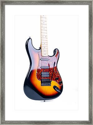 Six String Classic Rock Guitar Framed Print
