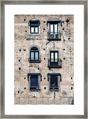 Six Windows Framed Print