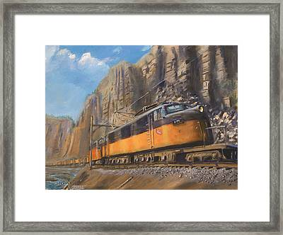 Sixteen Mile Canyon Framed Print by Christopher Jenkins