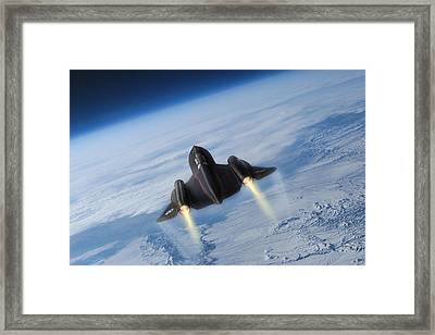 Sixteen Miles High Framed Print