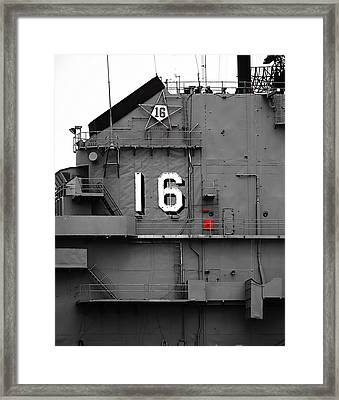 Sixteen Framed Print by Wendy J St Christopher