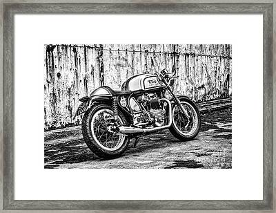 Classical Triton Framed Print by Tim Gainey