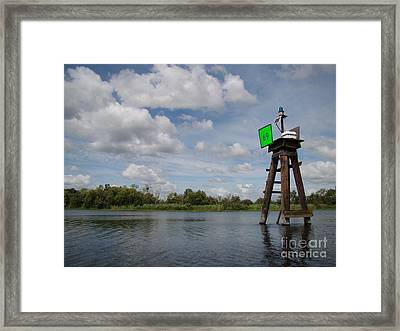 Sixty Nine Framed Print by Jack Norton