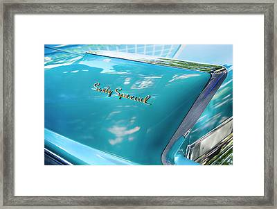 Framed Print featuring the photograph Sixty Special Cadillac by Theresa Tahara