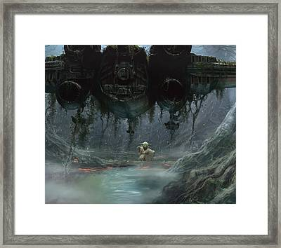 Size Matters Not Framed Print by Ryan Barger