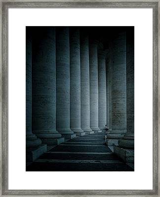 Size Proportions Framed Print by Mirek