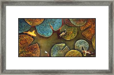 Sizing It Up Framed Print by Stephen Schubert