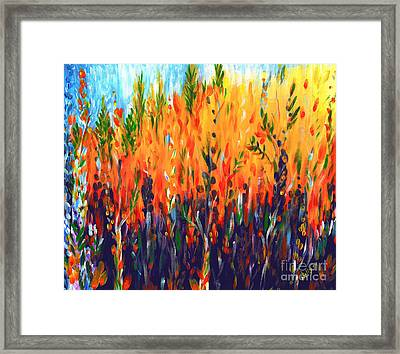 Sizzlescape Framed Print