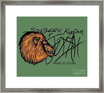 Sk Of Judah Framed Print