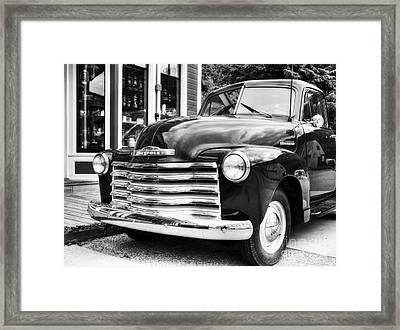 Skagway Classic Bw Framed Print by Mel Steinhauer