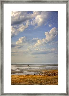 Skaket Beach Cape Cod Framed Print