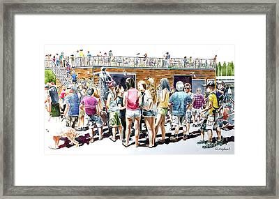 Skansie Brother Park Framed Print