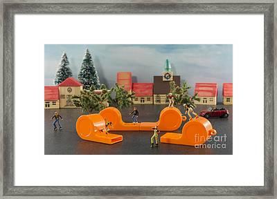 Skate Park Framed Print