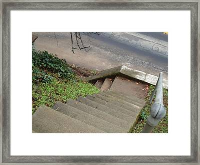 Framed Print featuring the photograph Skate Park by Steven Holder