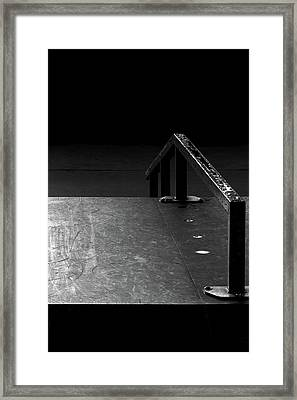 Framed Print featuring the photograph Skateboard Ramp II by Richard Rizzo