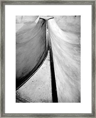 Skateboarding Framed Print by Kenneth Carpenter