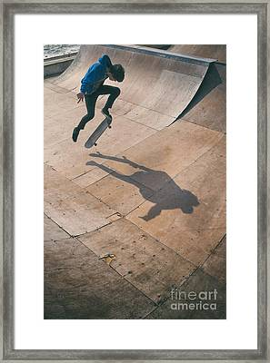 Skater Boy 001 Framed Print