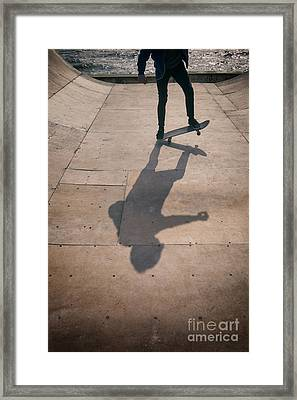 Skater Boy 002 Framed Print