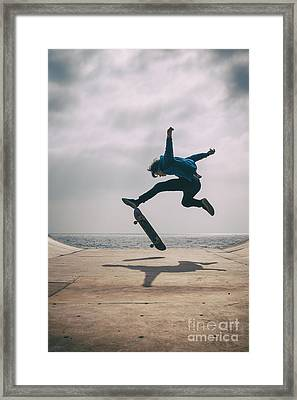 Skater Boy 003 Framed Print