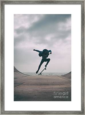 Skater Boy 004 Framed Print
