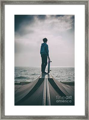 Skater Boy 005 Framed Print