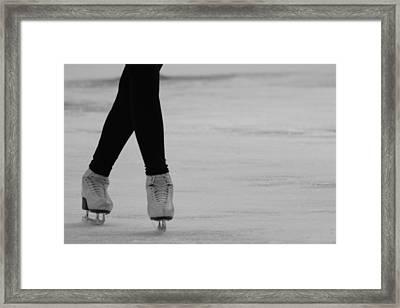 Skating Framed Print by Lauri Novak