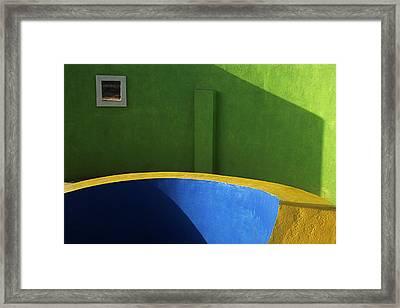 Skc 0305 The Fundamental Colors Framed Print