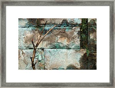 Skc 2510 Worn Out  Framed Print