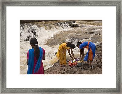 Skc 2621 A Collective Task Framed Print