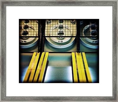 Skeeball Arcade Photography Framed Print